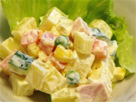 簡単ポテトサラダ-2015.7.22