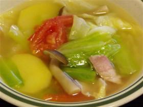 キャベツとベーコンのスープ-2015.7.22