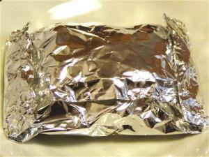 ホイル蒸しの包み方-2015.7.23