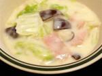 白菜の簡単クリーム煮-2015.7.23