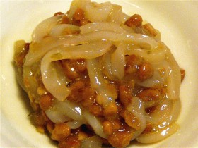 いか納豆ゆずこしょう風味-2015.7.27