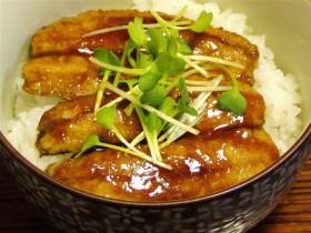 いわしの蒲焼丼-2015.7.24