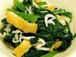 小松菜と油揚げの煮びたし-2015.7.25