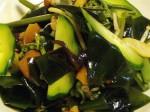 わかめと山菜ミックスのサラダ-2015.7.28