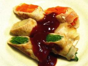 野菜の豚肉巻き-2015.7.24