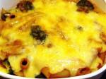 簡単ペンネのチーズ焼き-2015.8.3
