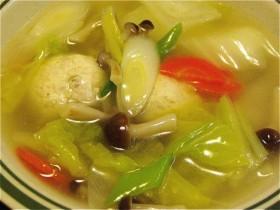 鶏団子のスープ-2015.12.10