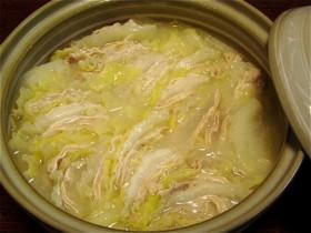 白菜と豚バラ肉のスープ煮-2016.1.30