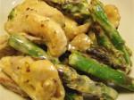 鶏肉とアスパラガスの炒め物-2016.2.27