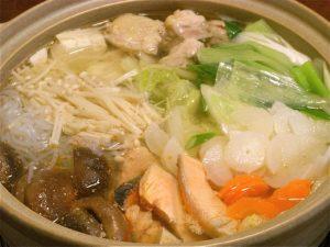 鮭と鶏肉の鍋-2016.10.8