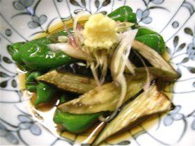 焼き野菜のおひたし-2017.9.29