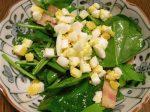 ほうれん草のサラダ(2)