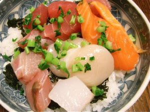 海鮮丼-2017.10.31