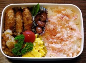 お弁当-うずらの煮豆-2-2015.7.28