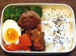 お弁当-ハンバーグ-3-2015.8.8