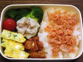 お弁当-シュウマイ-2015.9.8
