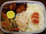 お弁当-鶏の唐揚げ-2015.11.20
