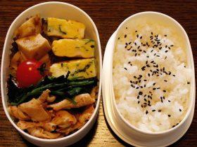 「レタス入り豚キムチ」を入れたお弁当のヒント-2016.10.23