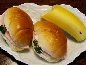 バターロールを使ったお弁当のヒント(2)-2016.10.23